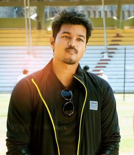 Vijay in #thuppaki #costume&styling by #komalshahani