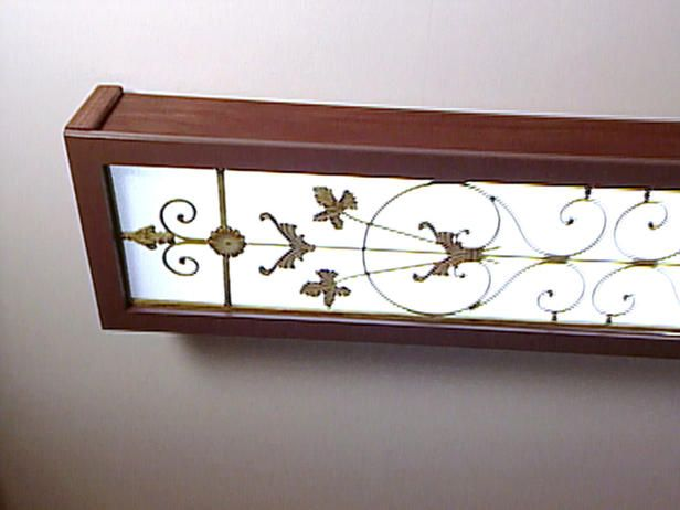 Ceiling Flourescent Box Lighting | ... Light Box Covers The Existing Fluorescent  Light We
