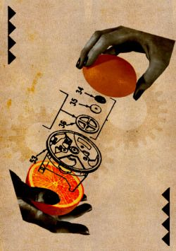alfiusdebux:  Clockwork Orange by Jiro Ban on Flickr.