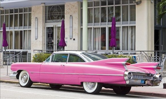 Pink Cadillac  ♥   Coolest Cars in Song