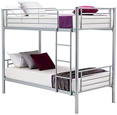 Best Amazon Com Mecor Bunk Bed Frame Twin Over Twin Easy 400 x 300