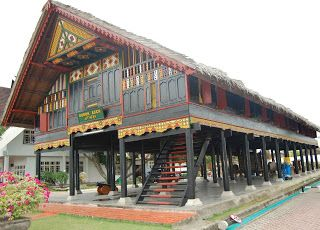 Rumoh Aceh - Aceh Traditional House