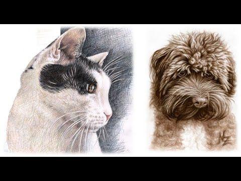 Fellfreunde - Haustierporträts von Nicole Zeug