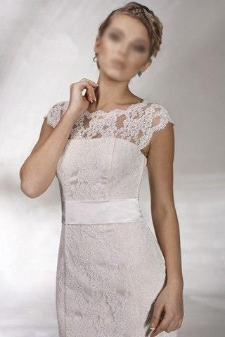 Отдам в дар кружевное свадебное платье