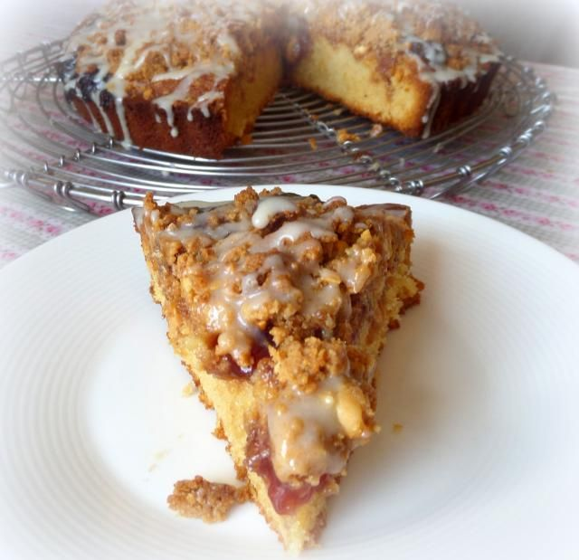 Peanut Butter and Jelly Crumb Cake | The English Kitchen (photo SAM ...