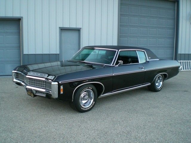 Sold 1969 Chevrolet Caprice 427 V8 Classic Car Unrestored