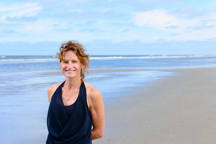 Foto sessie op het strand