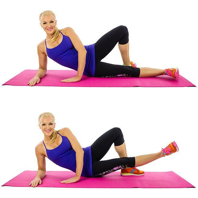 The inner leg lift is one of the most popular exercises for women looking to shape the inner thigh and tone the general thigh area.