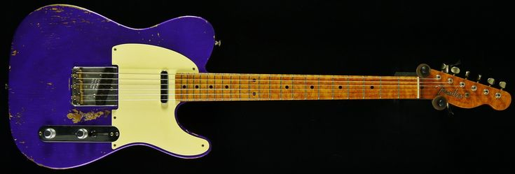 Fender Custom Shop Dale Wilson Masterbuilt 52 Telecaster Purple Metallic - Fender Custom Shop - Electric Guitars | Coda Music