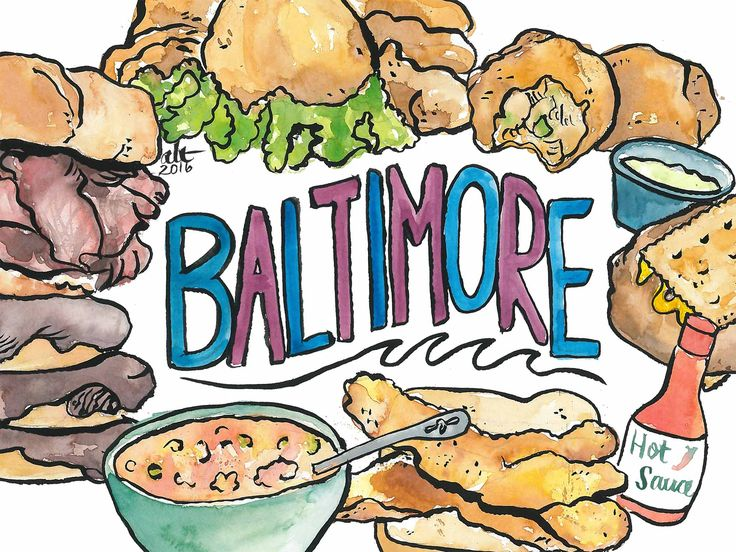 There's a lot more to the food of Baltimore than crab cakes.