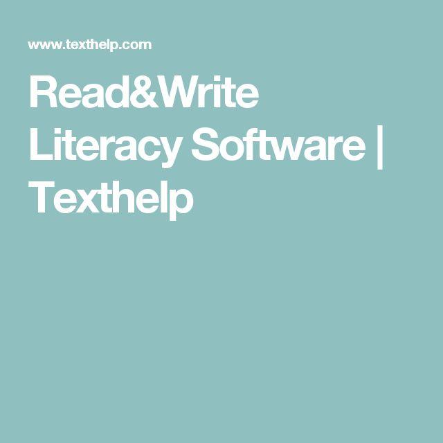 Read&Write Literacy Software | Texthelp