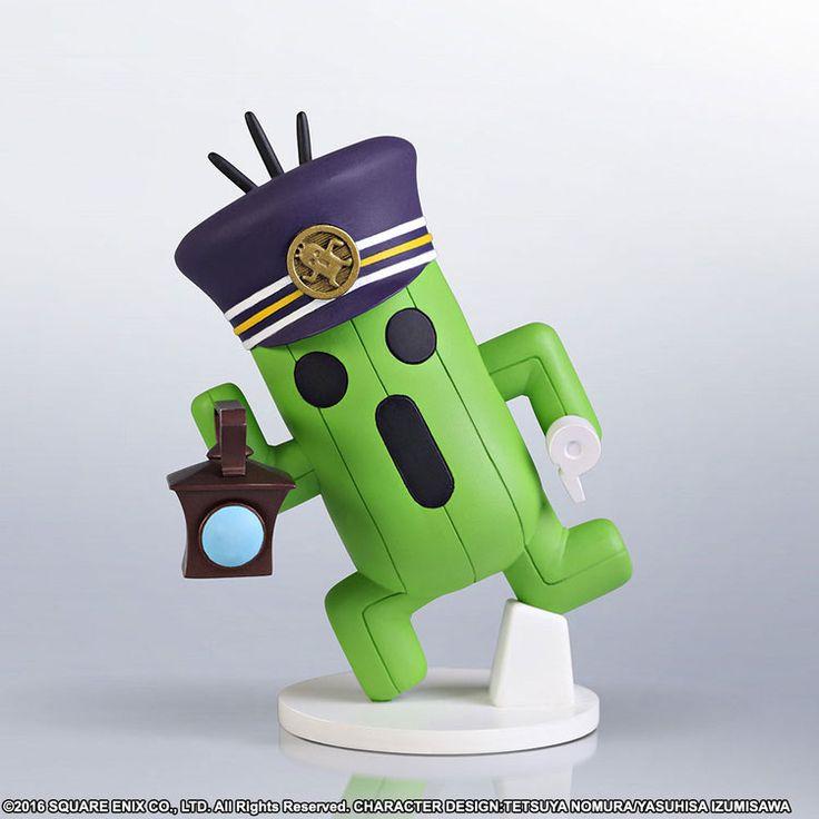 World of Final Fantasy Static Arts Mini Kaktor Conductor 10 cm