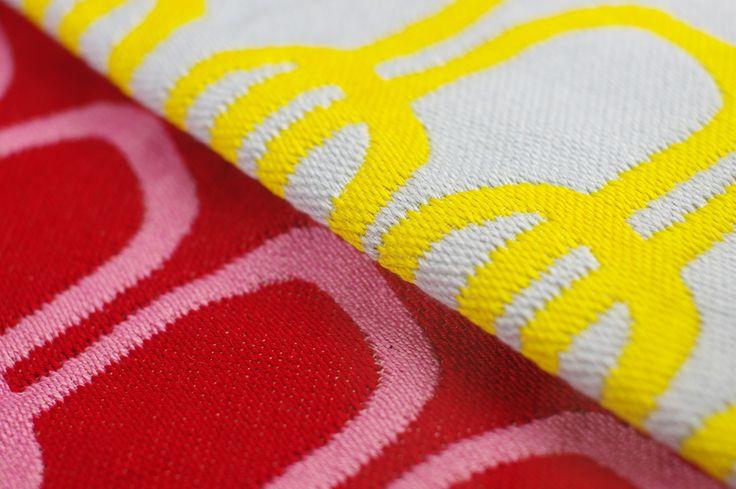 Daisy Watt - RMIT textile design. Double weave, jacquard.