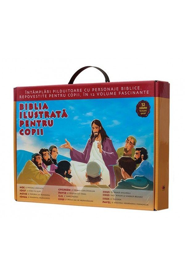 Cutie cadou Biblia ilustrată pentru copii