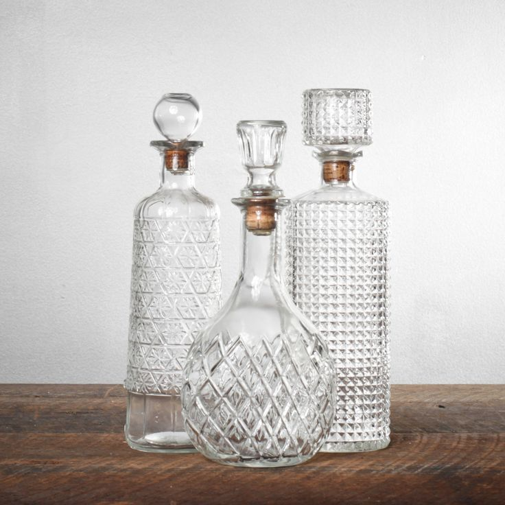 1920s Cut Crystal Decanter Set