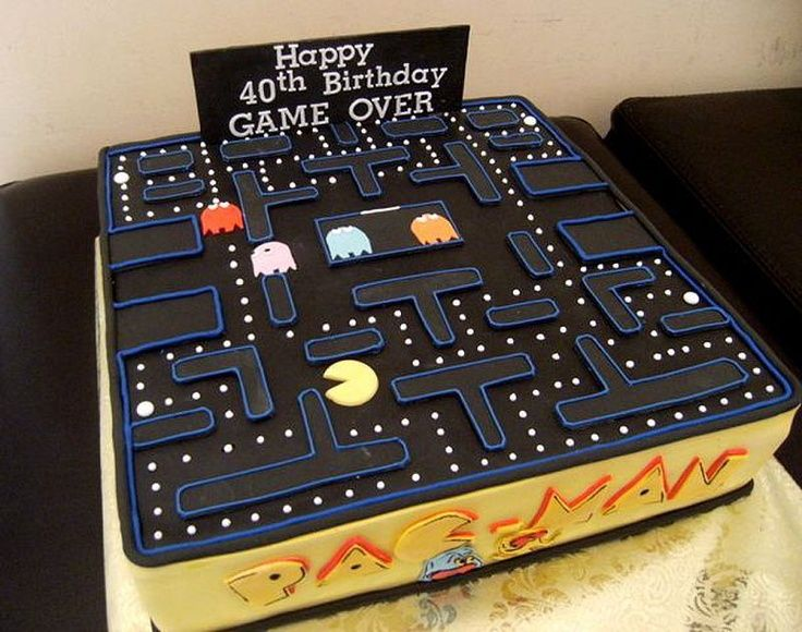 mens 40th birthday cake ideas   40th Birthday Cakes for Men