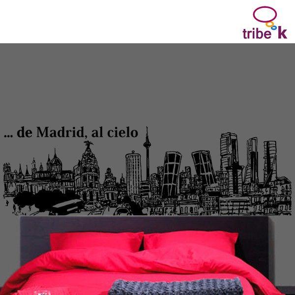 Madrid and deco on pinterest - Vinilos decorativos en madrid ...