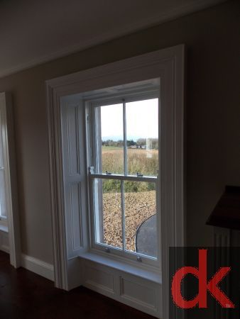 traditional window panelling