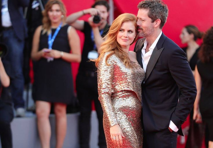 Amy Adams in TOM FORD at #VeniceFilmFestival