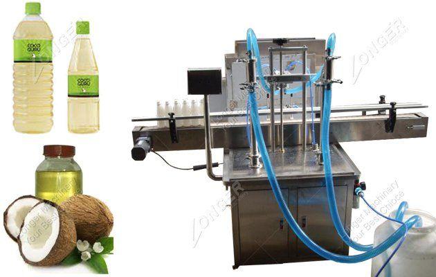 Coconut Oil Bottle Packing Machine Oil Bottle Cooking Oil Bottle Oils