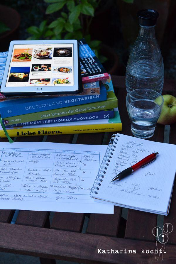 Wochenplan erstellen