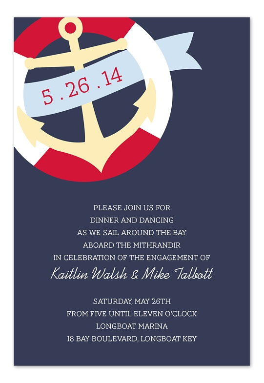 nautical banner party ideas pinterest invitations party and