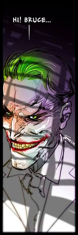 The Joker by Carmine Di Giandomenico * bruce diaz batman