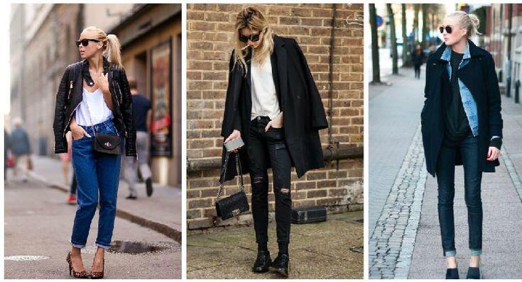 Kış Modası Jean Trendleri 2015
