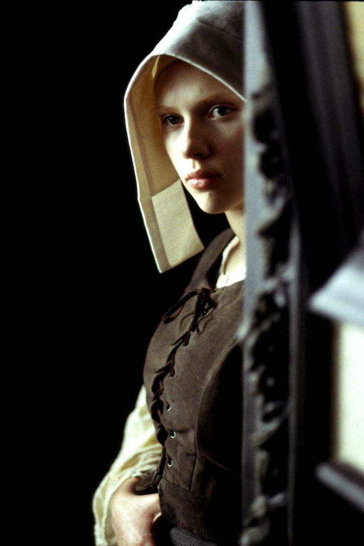 Scarlett Johansson Girl With A Pearl Earring  Girl With A Pearl  Earringalomoda  Alomoda