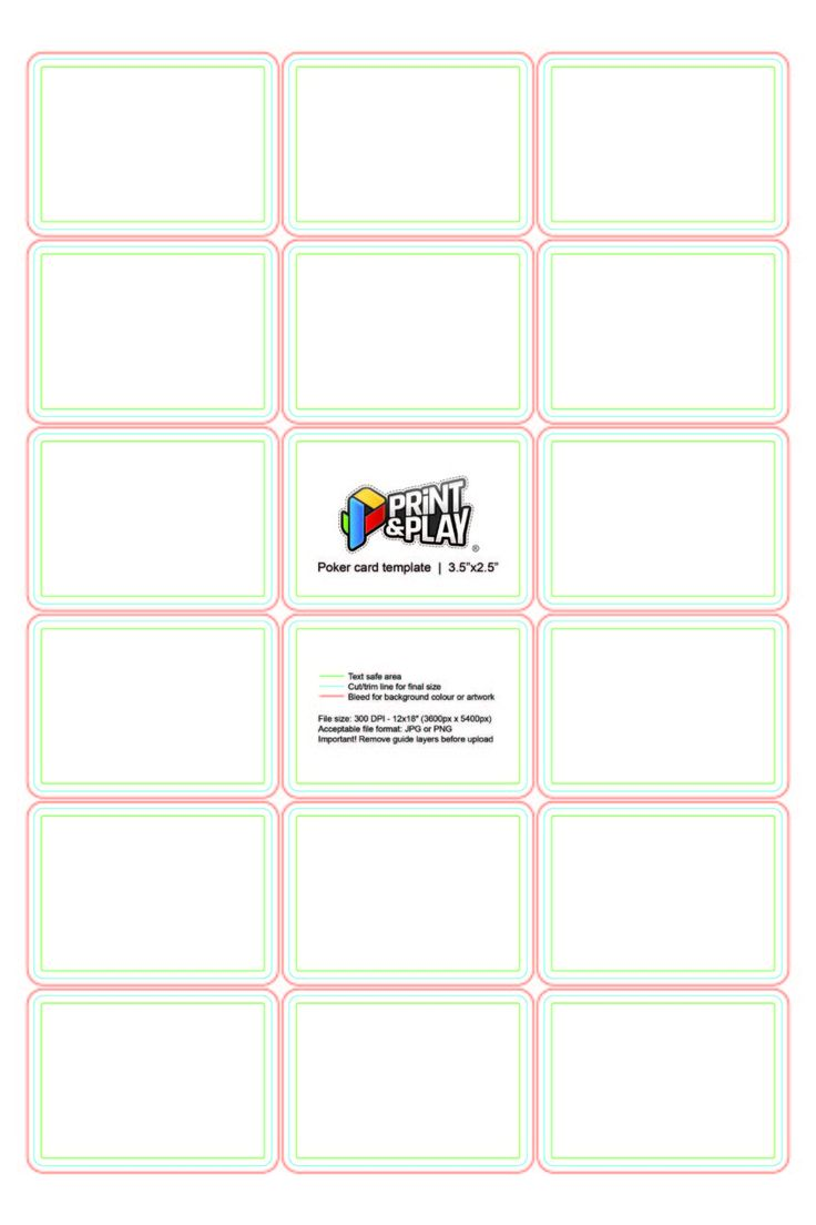 013 ms word business card template blank playing cards