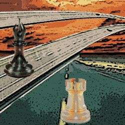 Positional chess demands that you take control of the main highways with your pieces