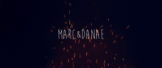 Marc & Danae's were already married, but they had a surprise party for everyone a few years later. movie http://vimeo.com/87900009