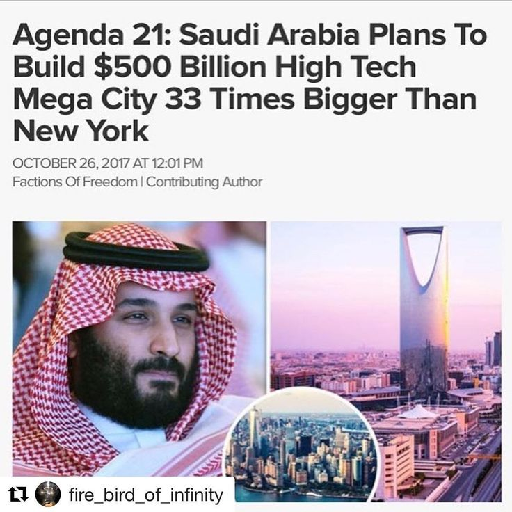 Big News  #SaudiArabia has announced plans to build a new #megacity across its borders with #Jordan and #Egypt which will be entirely powered by #renewableenergy.  The city which has been named #NEOM will be built from the ground up on a massive greenfield site in northwest Saudi Arabia. It will span over 26500 square kilometers an area more than 33 times bigger than #NewYorkCity. The city already has its own Twitter account and website.  Saudi Crown Prince #MohammedbinSalman said the city…