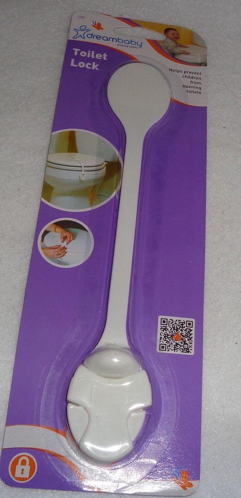 DreamBaby Toilet Lid Lock - Child Safety Appliance Cabinet Strap L123 #DreamBaby