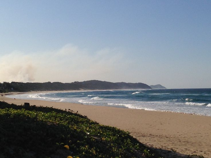 Rough Sea, no diving for the #GreenBubblesRISE team in Ponta do Ouro!