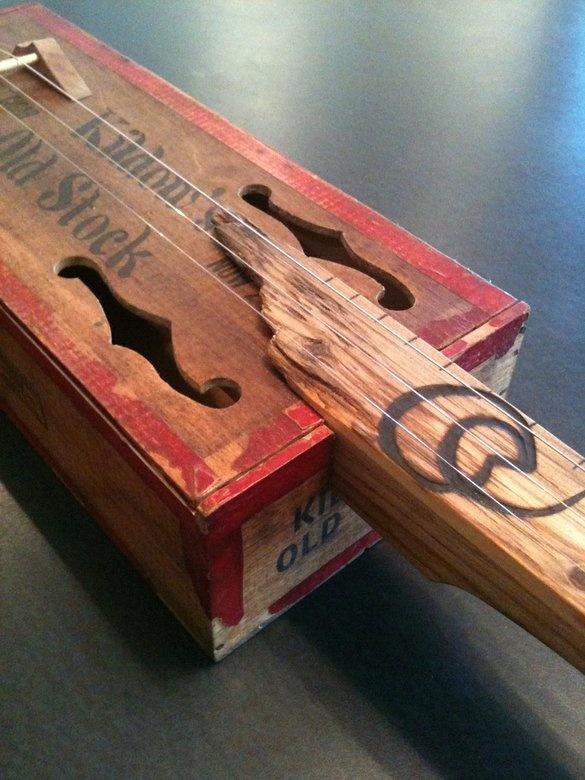 cigar box guitar instructions 3