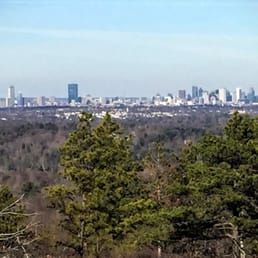 Photo of Blue Hills Reservation - Milton, MA, United States. Boston skyline.