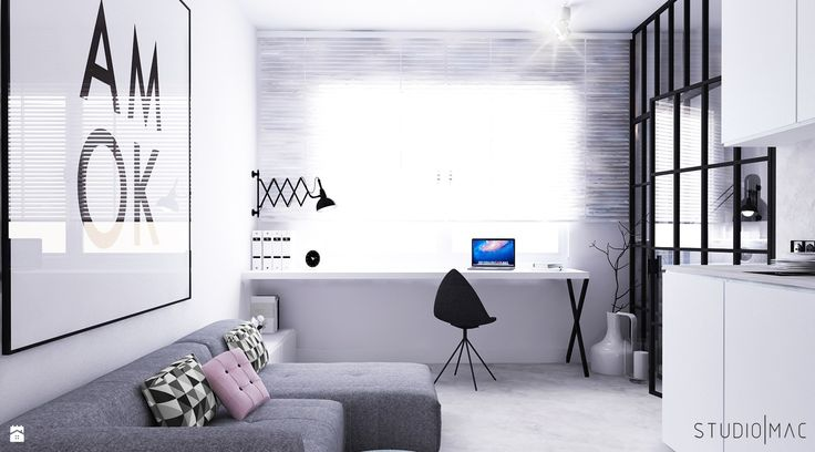 KAWALERKA - zdjęcie od STUDIO MAC - Salon - Styl Minimalistyczny - STUDIO MAC