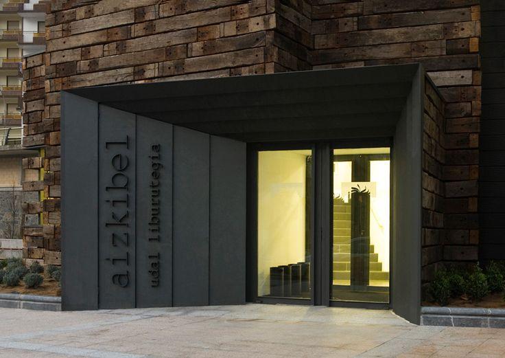 Library extension in Azkoitia by Estudio Beldarrain
