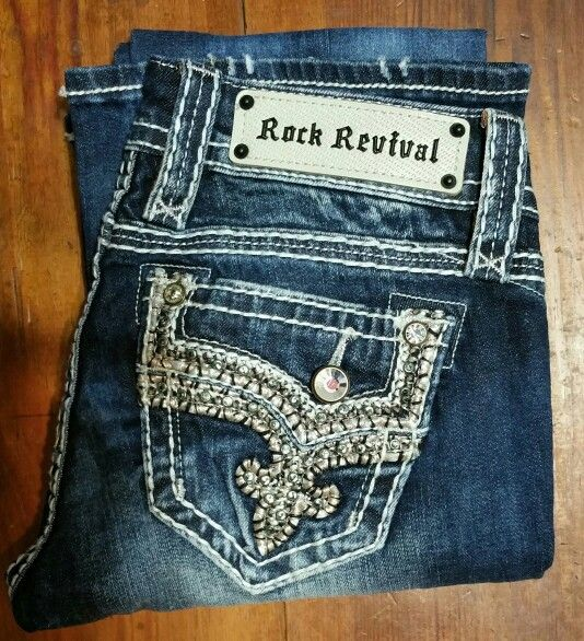 Rock Revival Betty. My February 2015 Rock Revival Jeans Haul from my local outlet store, new with tags, not factory seconds, and paid less than $20 for these. :) Love cheap Rock Revivals!