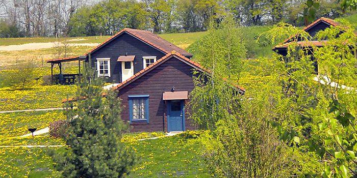 Houten vakantiehuis voor 6 personen in Bourgondië Frankrijk