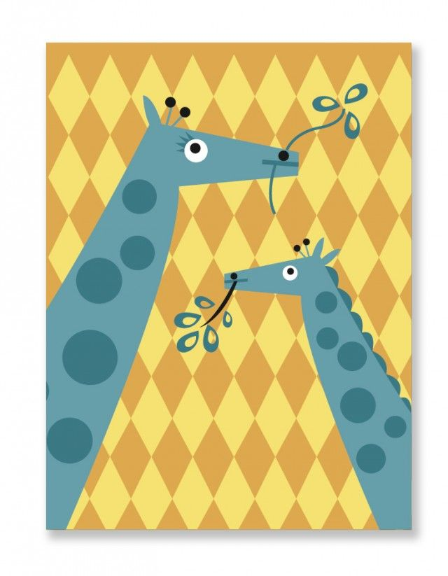 This is the cute poster Giraffe by My Little Treasure! #nordicdesigncollective #yellow #trend #trendcolor #trendcolour #easteryellow #easter #kidsposter #childrensposter #poster #giraffe #giraffes #animal #zoo #print #prints #mylittletreasure #treasure #kids #children #forkids #forchildren #swedishdesign