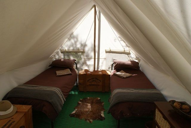 Quartermain's Camp - Beautiful, Intimate and Rustic Tented Camp Getaway - Travelscape.co.za