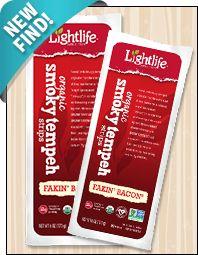 Lightlife Organic Smoky Fakin' Bacon Tempeh Strips