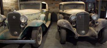5 clásicos, anteriores a la Segunda Guerra Mundial, hallados en un rancho de Texas