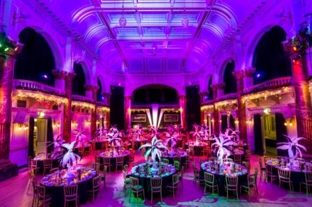 #GreatGatsby #Cheltenham The Town Hall ready for its first party night!!!