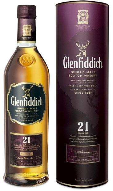 Glenfiddich 21 y check.