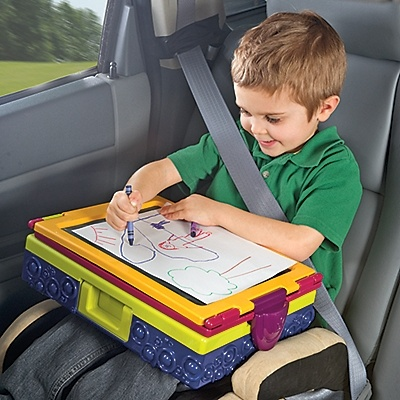 Kids Travel Easel and Art Desk Keep your little artist happy anywhere, with  our portable - 20 Best Images About Traveling With Kids On Pinterest Easels