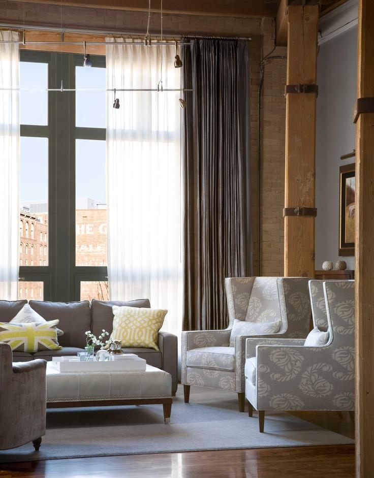 Loft Living Room Decorating Ideas: 177 Best Lofts & Warehouses Images On Pinterest