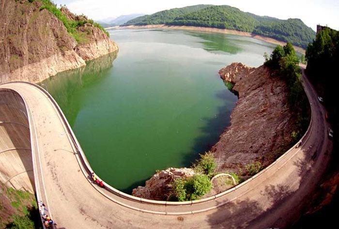 Vidraru Dam - Arges County